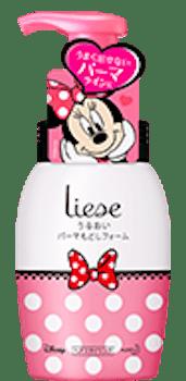 product 5 min - 花王リーゼ&ブーケ|ミニーマウスのデザインボトルでヘアスタイル自由自在!!