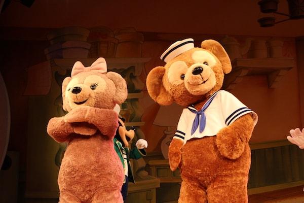 mo06 min - 東京ディズニーシーで会える|ダッフィー シェリーメイ ジェラトーニ ステラルー もふもふキャラクター