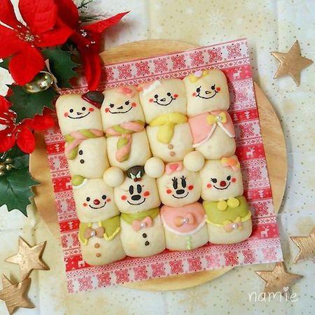 tigiri03 min - ディズニーデザインの【ちぎりパン】〜クリスマス、ハロウィン、イースターなどパーティーにも大活躍!!