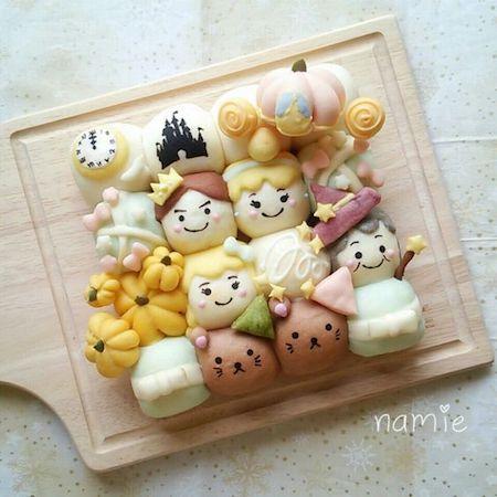 tigiri04 min - ディズニーデザインの【ちぎりパン】〜クリスマス、ハロウィン、イースターなどパーティーにも大活躍!!