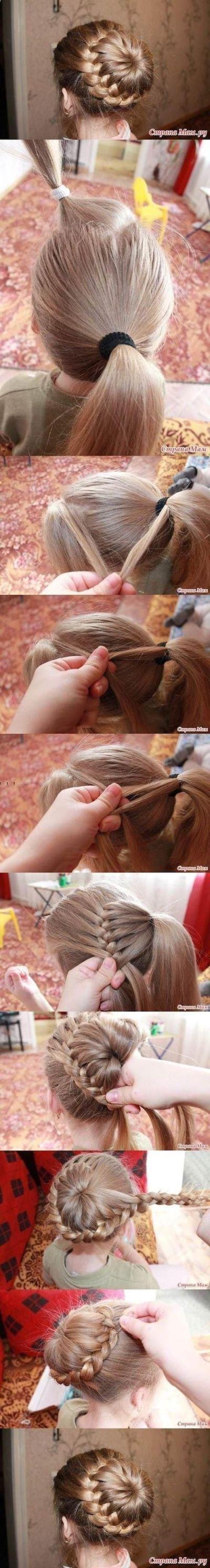 girl010 min - ママが簡単にできる「女の子のヘアスタイル」〜 ディズニー 発表会 結婚式 シチュエーション別の髪型をご紹介