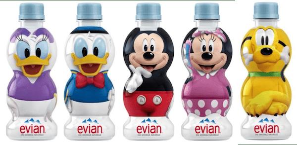 evi201802 min - エビアン ディズニーデザイン パッケージ 〜 ミネラルウォーターの成分ってどう?