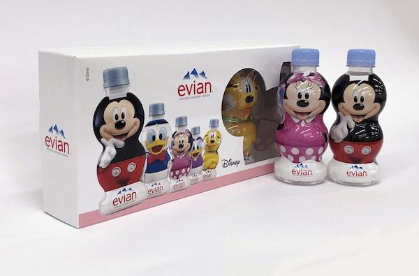 evi201803 min - エビアン ディズニーデザイン パッケージ 〜 ミネラルウォーターの成分ってどう?