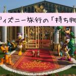 moti01 min - ディズニー旅行の「持ち物」はスーツケース8割空っぽがおすすめ〜必要なものリスト!!