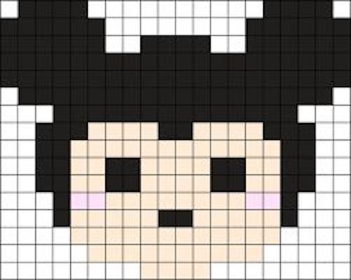 sikaku01 min - 【アイロンビーズ無料図案】四角いプレートを利用してディズニーキャラクターを作ろう!!〜フレンズからプリンセスまで【15点追加】
