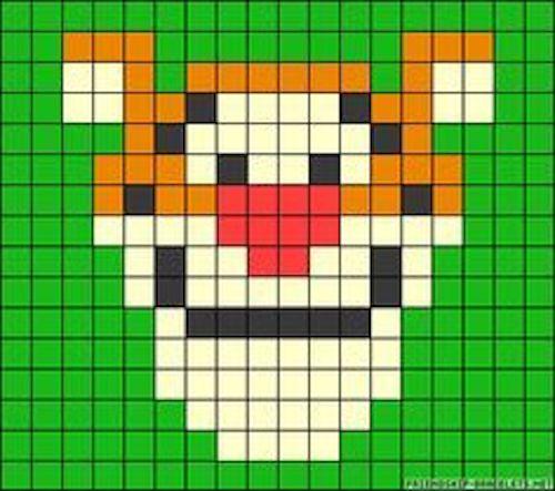 sikaku010 min - 【アイロンビーズ無料図案】四角いプレートを利用してディズニーキャラクターを作ろう!!〜フレンズからプリンセスまで【15点追加】
