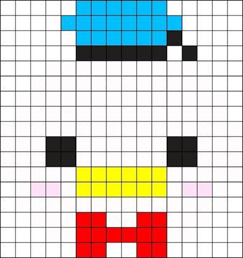sikaku03 min - 【アイロンビーズ無料図案】四角いプレートを利用してディズニーキャラクターを作ろう!!〜フレンズからプリンセスまで【15点追加】