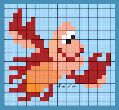 tuika05 min - 【アイロンビーズ無料図案】四角いプレートを利用してディズニーキャラクターを作ろう!!〜フレンズからプリンセスまで【15点追加】