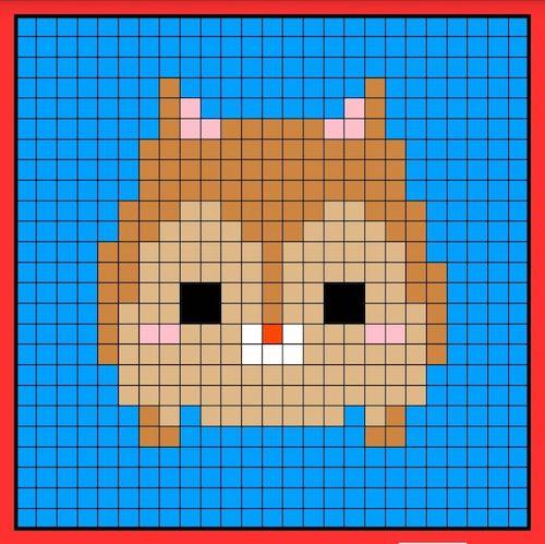 tuika09 min - 【アイロンビーズ無料図案】四角いプレートを利用してディズニーキャラクターを作ろう!!〜フレンズからプリンセスまで【15点追加】