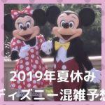 ca001 min - 2019年夏休み【ディズニー混雑予想】回避方法はある?