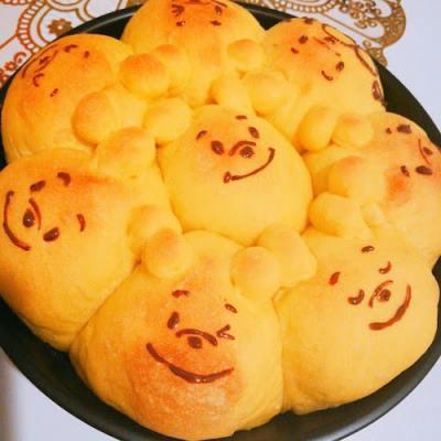 poopan01 min - 【くまのプーさん】ディズニーパンの簡単レシピ