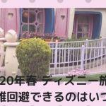 spr001 min - 2020年春【ディズニー旅行】混雑回避できるのはいつ?~新エリアオープン前?