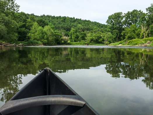 Happily Kayaking