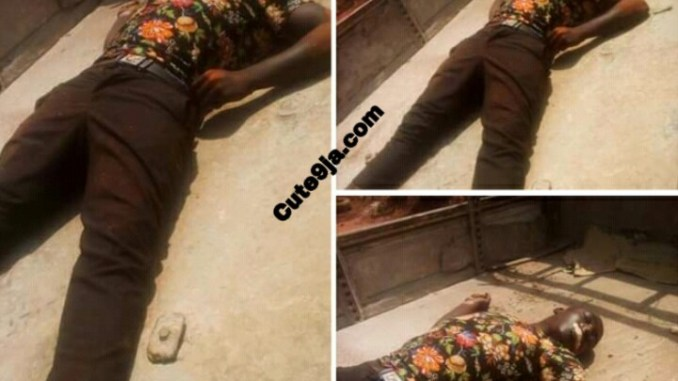 Rubbers Kill a young boy and took his Motorcycle at Enugu State