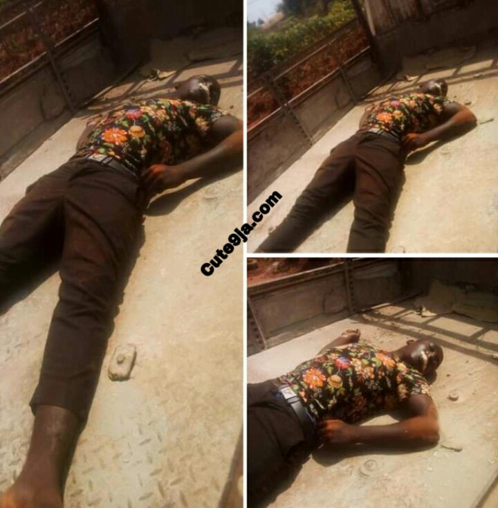 Rubbers murdered a young boy and took his Motorcycle at Enugu State