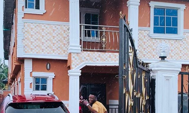 "Photos Of DJ Kaywise New House: ""Latest Landlord"""