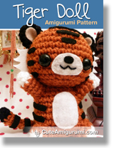 Tiger Doll Amigurumi Pattern