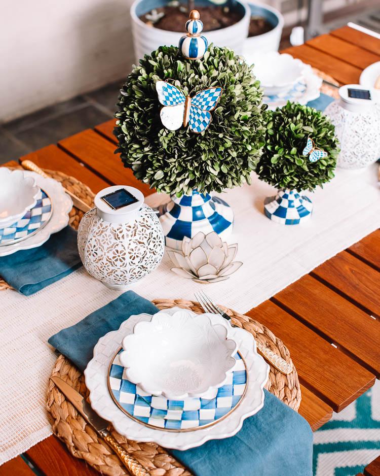 patio table decor dallas life and
