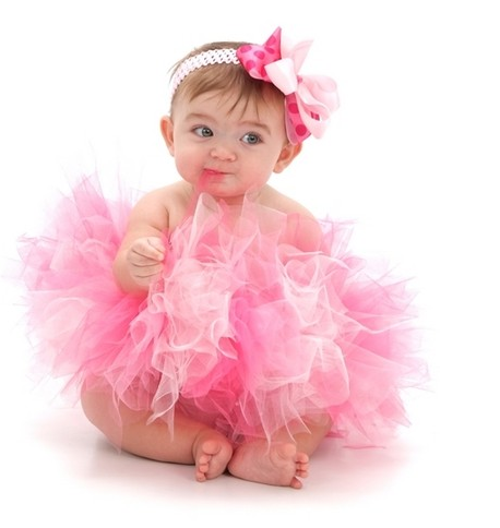 Cute Newborn Baby Girl Wallpapers Beautiful Baby In Pink Ballet Outfit Picture Png 4 Comments