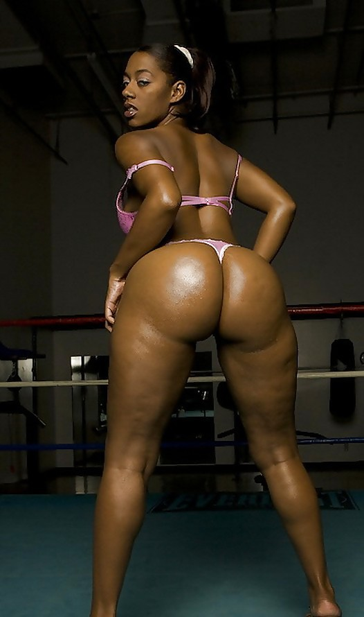 Obese And Ebony African Bubble Butts