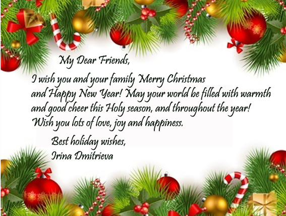 Beautiful Wallpapers With Heartfelt Quotes Christmas Greetings Carda For Friends Cute Christmas Cards