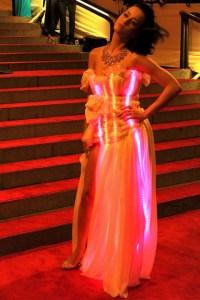 Katy Perry red carpet in CuteCircuit