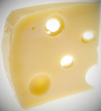 Swiss cheese boosted