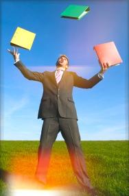 Juggling documents