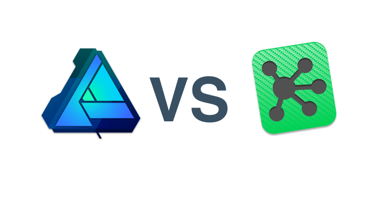 Affinity Designer vs Omnigraffle 2x