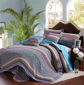 Quilts for life! Jacquard look Bohemian design