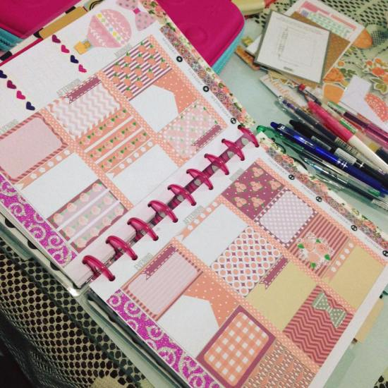 free printable shabby chic stickers used in planner