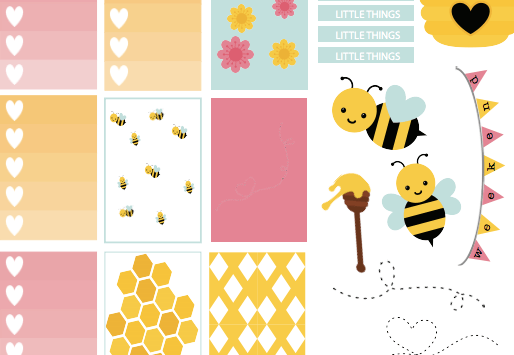 honey spring's here free printable