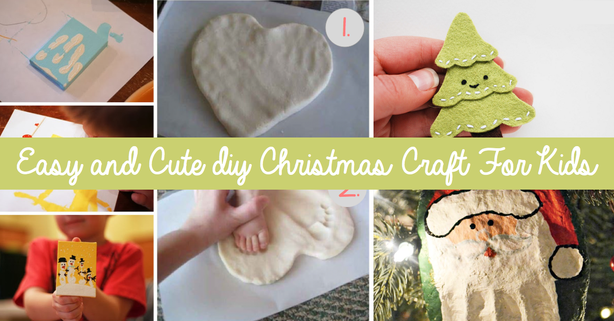 Christmas Crafts Easy For Kids