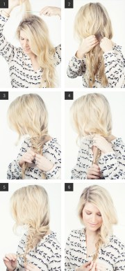 lazy day hairstyles long hair