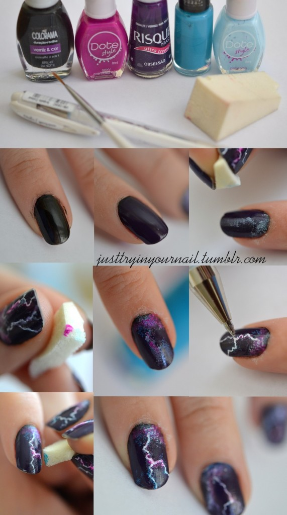 Cool Nail Polish Designs Easy Photo 3