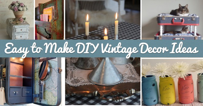 Rustic Diy Home Decor 13 Easy Crafts For The