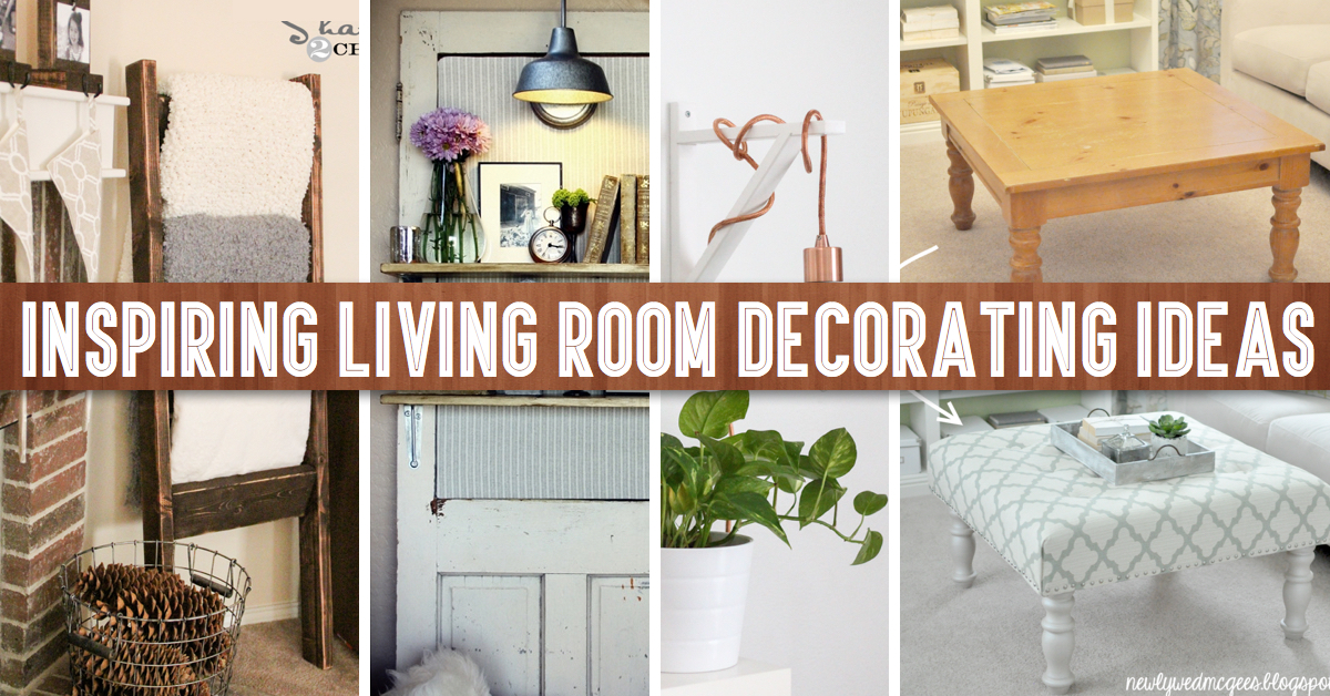 simple ideas to decorate your living room makeover 40 inspiring decorating cute diy projects