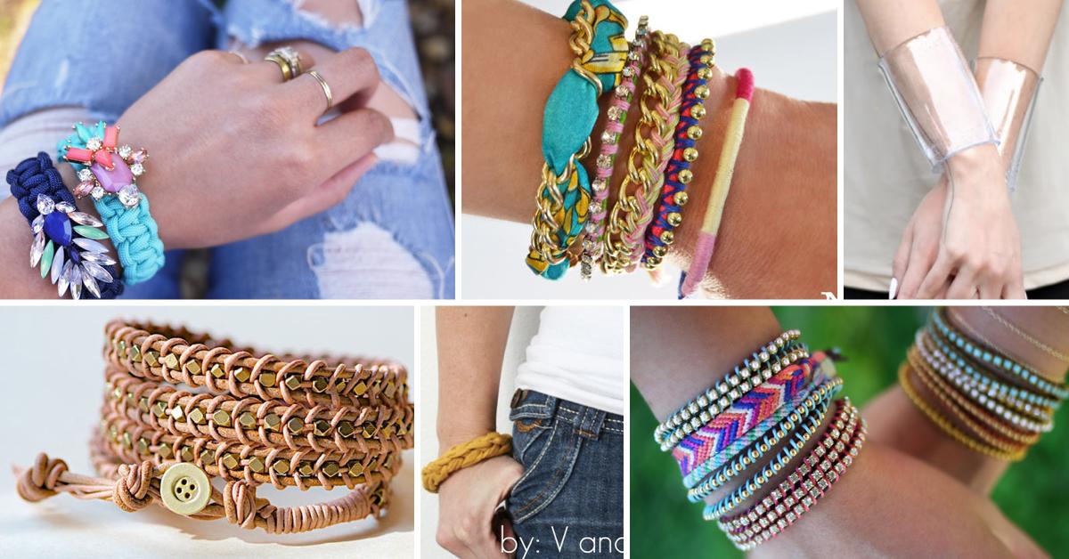 Jewelry Making Ideas 60 DIY Bracelets For Classy Ladies