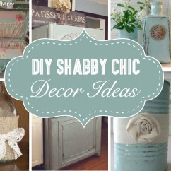 Diy Shabby Chic Living Room Ideas Interior Decorations For 25 Decor Women Who Love The Retro Style