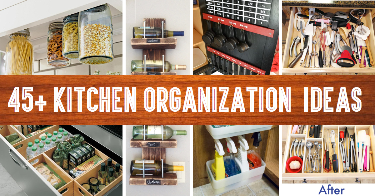 cheap kitchen storage alder cabinets 45 small organization and diy ideas cute projects