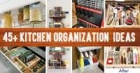 45+ Small Kitchen Organization And DIY Storage Ideas ...