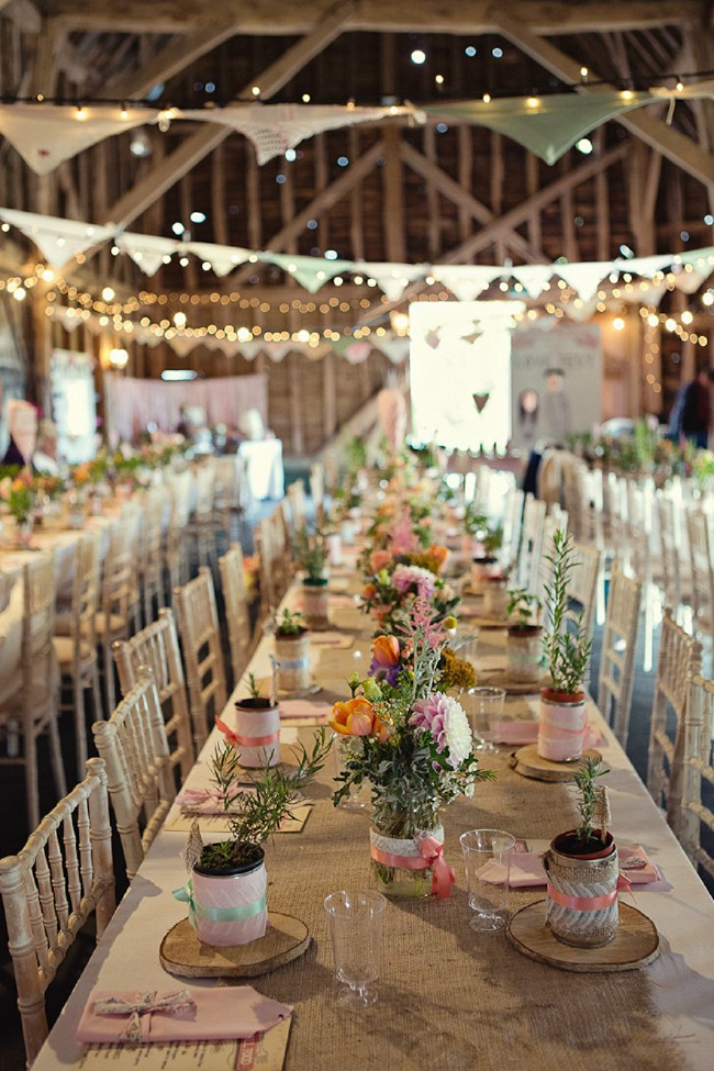 Shine On Your Wedding Day With These Breathtaking Rustic