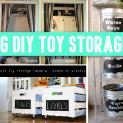 Small Living Room Toy Storage Ideas Decorating With Sectional Sofa 30 Amazing Diy For Crafty Moms Cute Projects