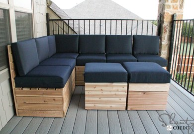Diy Outdoor Furniture From Pallets