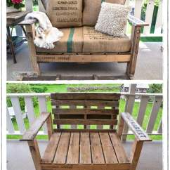 Diy Sofa From Pallets Crochet Arm Covers 20 Pallet Patio Furniture Tutorials For A Chic And Practical Wood Chair