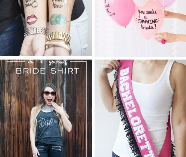 Your Guests Will Be Dazzled By These  Diy Bachelorette Party Ideas