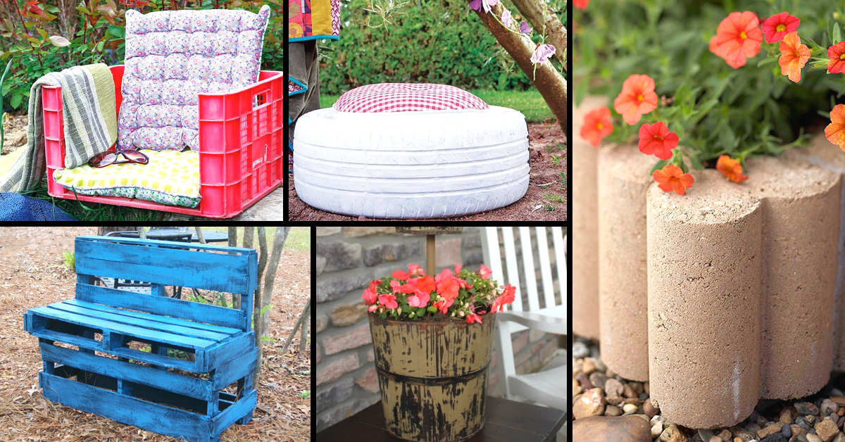 10 Truly Easy Yet Innovative DIY Garden Furniture Ideas – Cute DIY