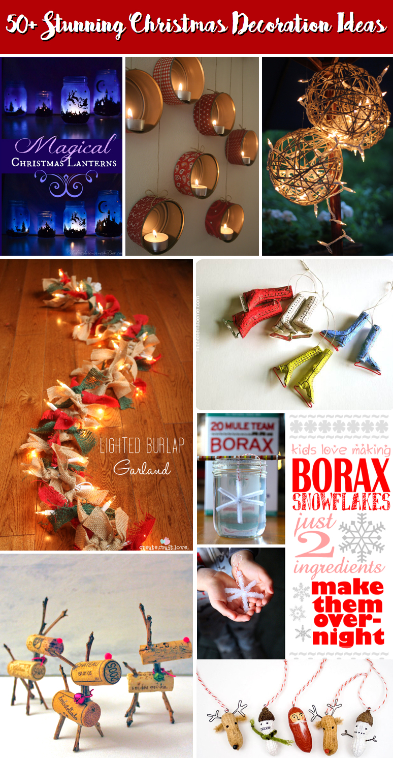 50 Stunning Christmas Decoration Ideas Casting A Magical Spell On Your House Cute Diy Projects