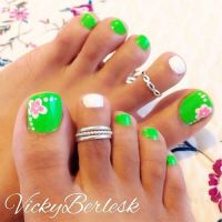 44 Easy And Cute Toenail Designs for Summer  Page 2 of 5 ...