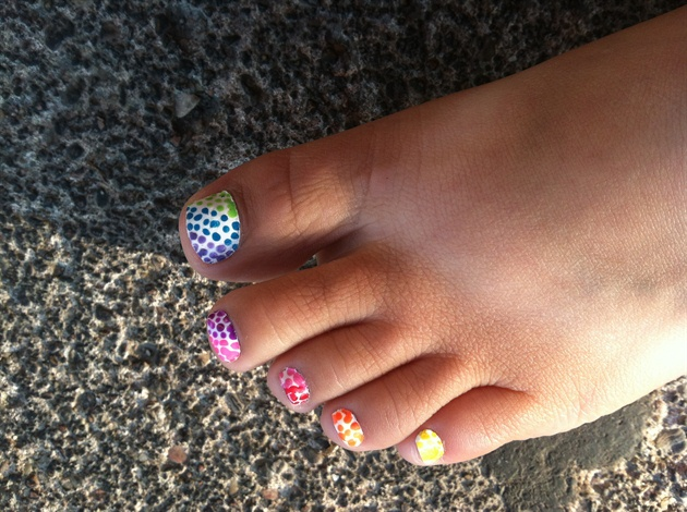 Best Flower Toe Nail Design